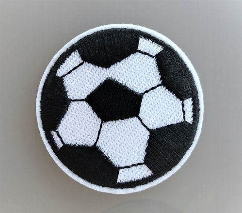 Écusson ballon de foot thermocollant
